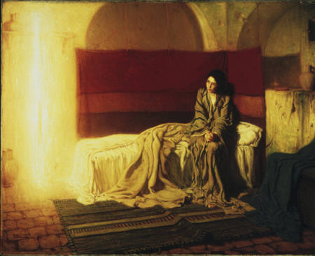 The Annunciation - Henry Ossawa Tanner