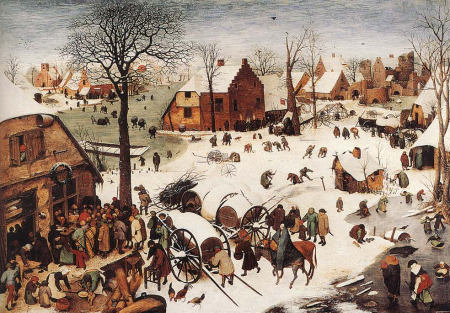 Pieter the Elder Bruegel - The Numbering at Bethlehem