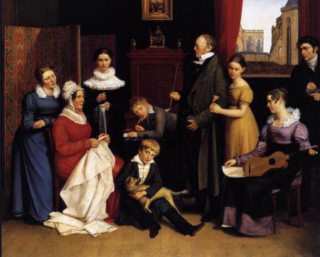 The Begas Family - Karl Joseph Begas