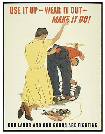 WWII Poster encouraging thrift - The National Archives