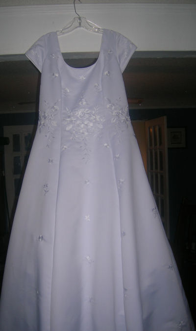 The First Communion Dress Project Simply Catholic