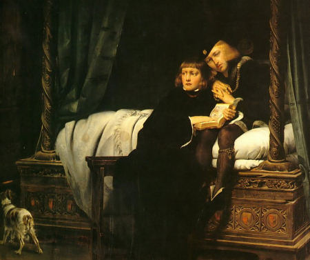 The Children of King Edward Imprisoned in the Tower - Paul Delaroche