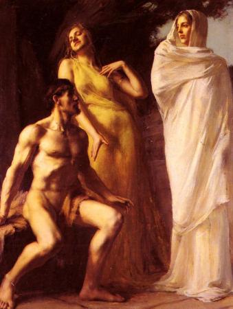 Hercules Between Virtue And Vice - Emmanuel Benner