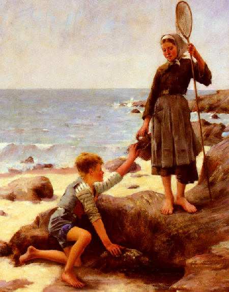 The Fisherman's Children - Jules Bastien-Lepage