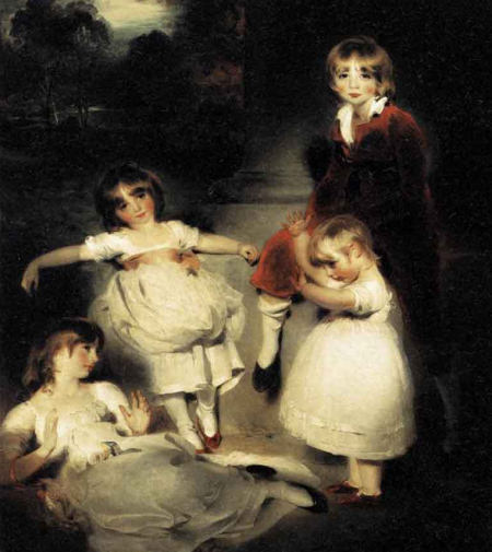 Portrait of the Children of John Angerstein - Sir Thomas Lawrence