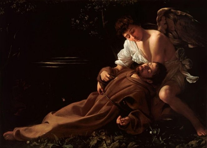 Saint Francis of Assisi in Ecstasy, Caravaggio