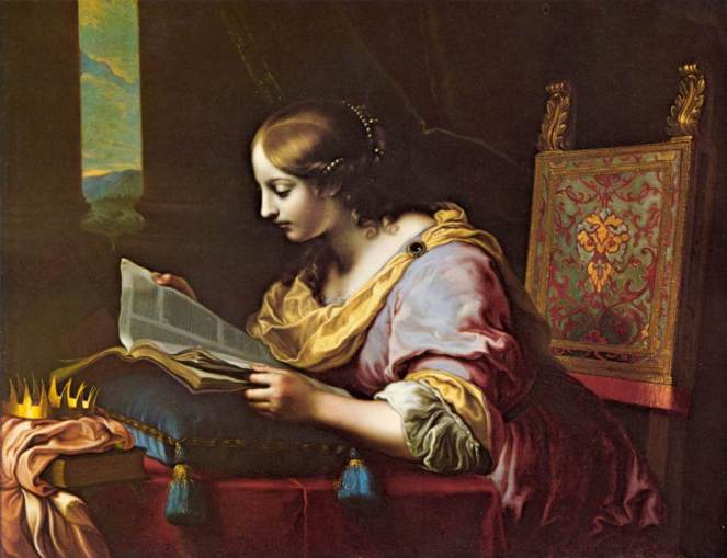 Carlo_Dolci_-_St_Catherine_Reading_a_Book_-_WGA06372