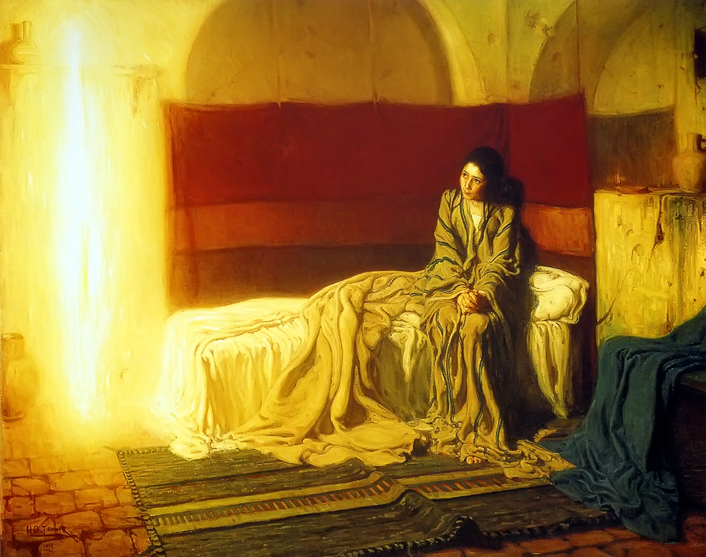 The Annunciation - Henry Ossawa Tanner - 1898